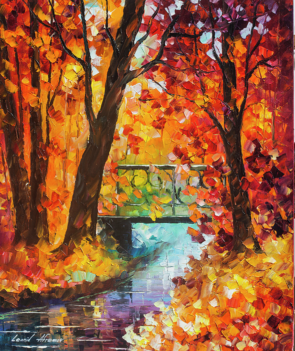 Swinging Time Painting By Leonid Afremov