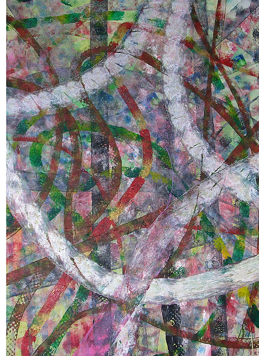 Abstract Painting - Swirl I by Russell Simmons