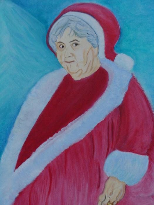 Sylvia Painting - Sylvia Claus by Diane Duran