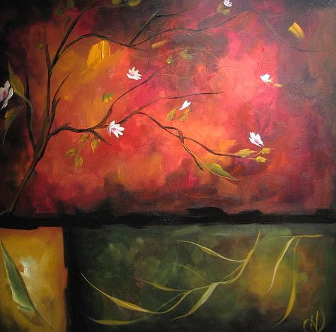 Sympathy Painting by Heather Roddy