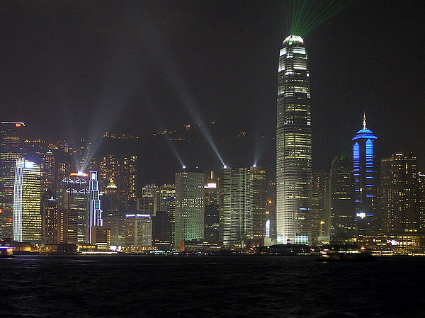 Hong Kong Photograph - Symphony Of Lights by Phil Stone