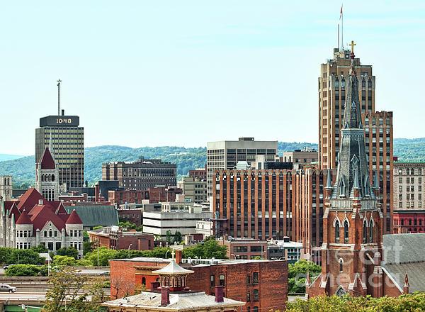City Photograph - Syracuse, New York by Debra Millet