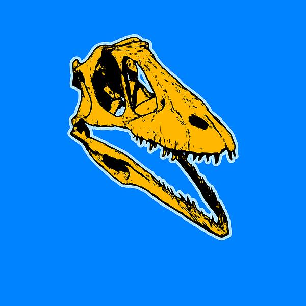 Dinosaur Painting - T-rex Graphic by Pixel  Chimp
