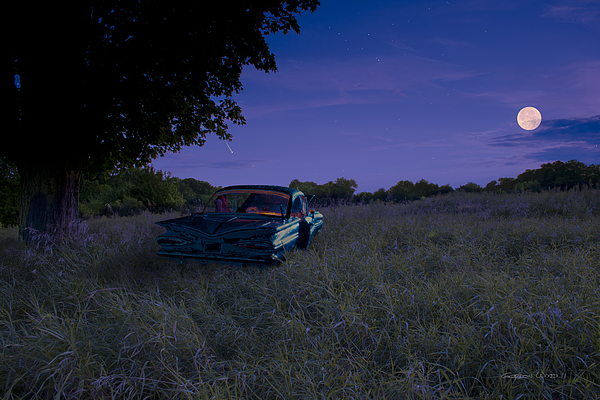 1959 Chevrolet Impala Photograph - Take A Picture Of This... by Gordon Wood