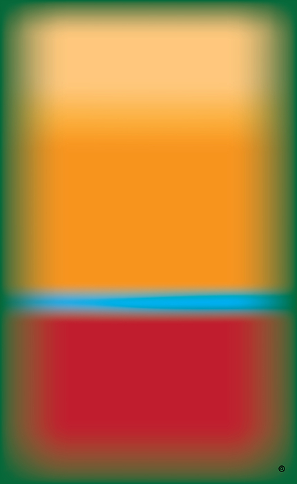 Abstract Digital Art - Tall Abstract Color by Gary Grayson
