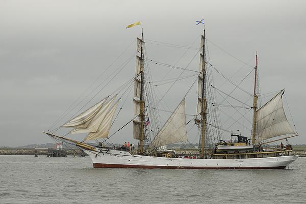 Ship Photograph - Tall Ship by Mimi Katz