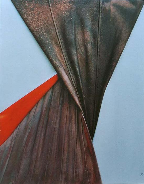 Tango Painting by Milva Pierotti