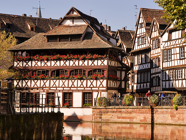 Travel Photograph - Tanners House Strasbourg by Louise Heusinkveld