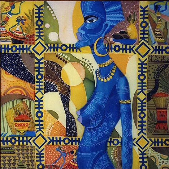 Impressionism Painting - tatu by  Kulenjonok Lilia