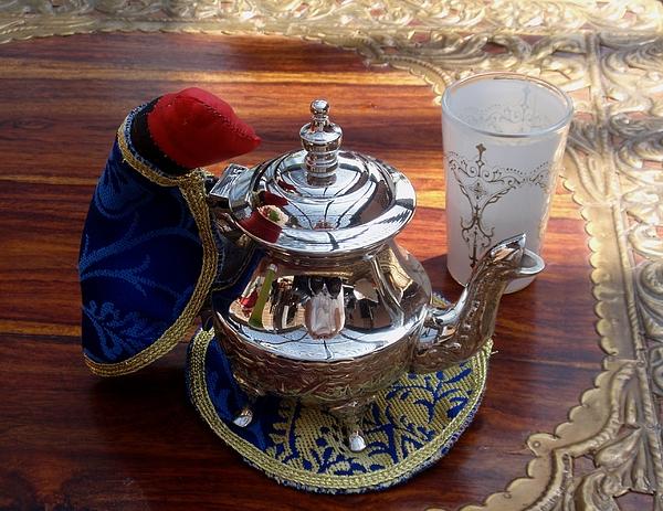 Tea Pot Photograph - Tea Time by Valia Bradshaw