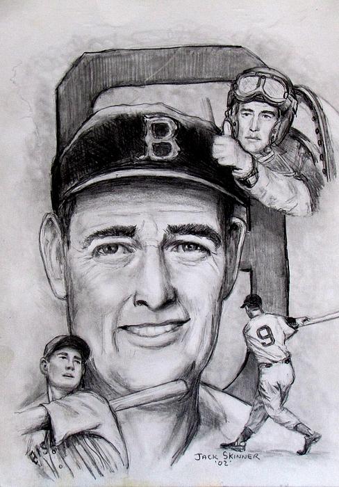 Baseball Photograph - Ted by Jack Skinner