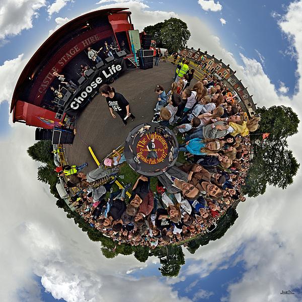 360 Photograph - Teenage Kicks - The Undertones Play Brooke Park by George Row