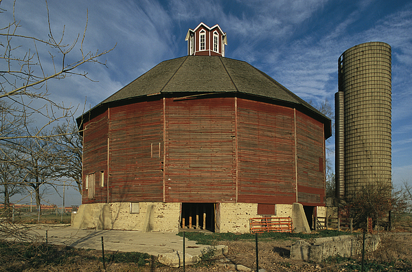 United States National Register Of Historic Places Photograph - Teeple Barn, Built Circa 1885 By Dairy by Ira Block