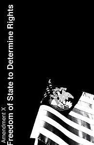 Amendments Digital Art - Tenth Amendment by Tony Zupancic