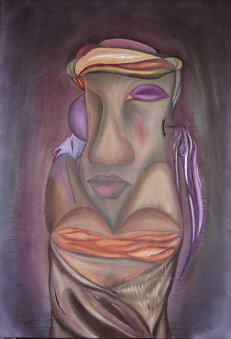 Tercera Dimencion Painting by Jorge Diaz