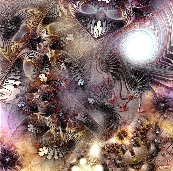 Abstract Digital Art - Terminating Turpitude by Casey Kotas