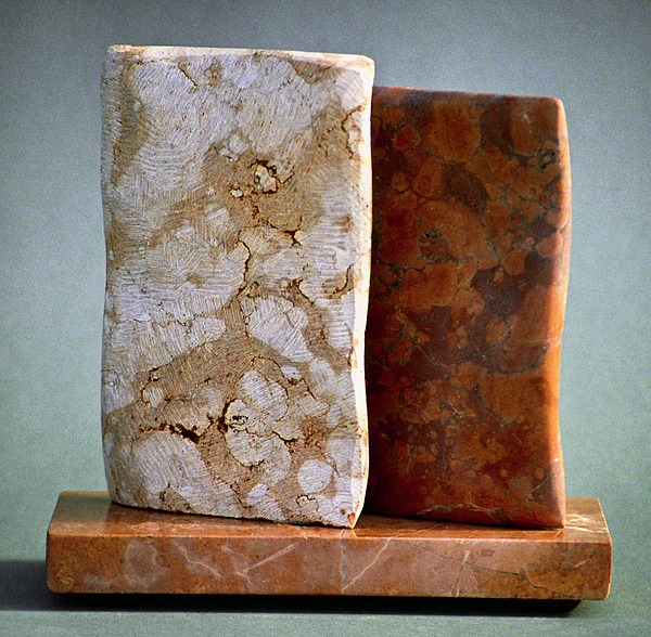 Stone Sculpture - Testament by Lonnie Tapia