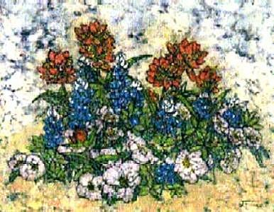 Texas Spring Painting by Lynda Wilson