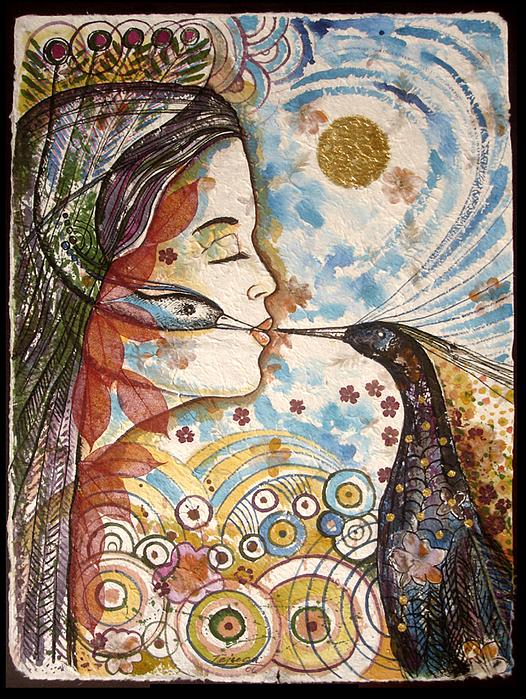 Texturas Del Tiempo 2 Painting by Armando Tejuca