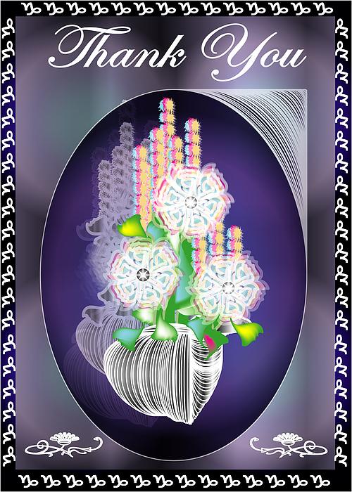 Thank You Card 2 Digital Art by George Pasini