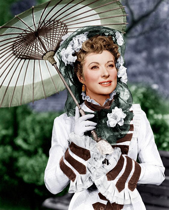 1940s Movies Photograph - That Forsyte Woman, Greer Garson, 1949 by Everett