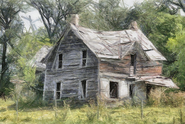 That very old house painting by murphy elliott for Classic house painting