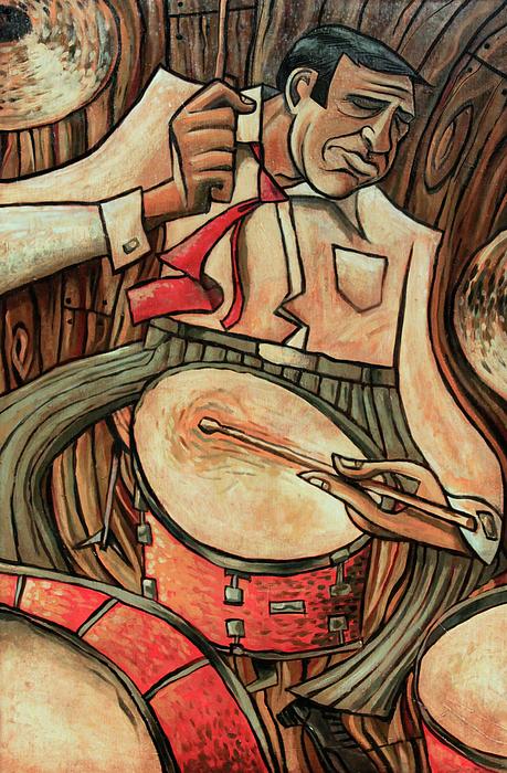Buddy Rich Painting - Thats Rich by Sean Hagan