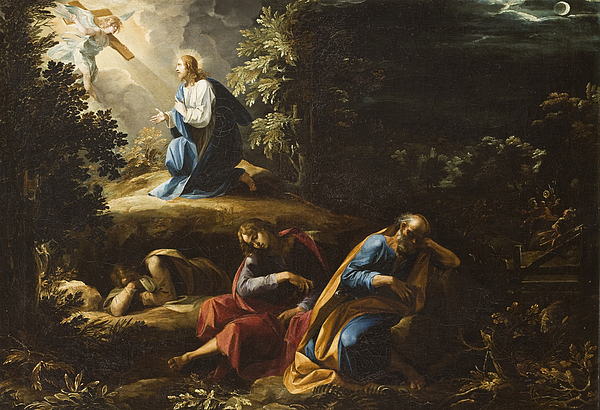 Image result for garden of gethsemane painting