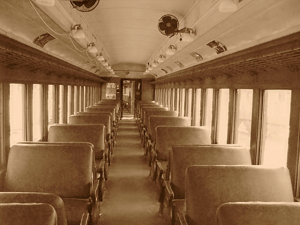 Trains Photograph - The Aisle by Charles Robinson