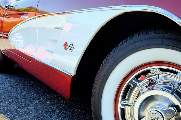 Corvettes Photograph - The American Classic by JC Findley
