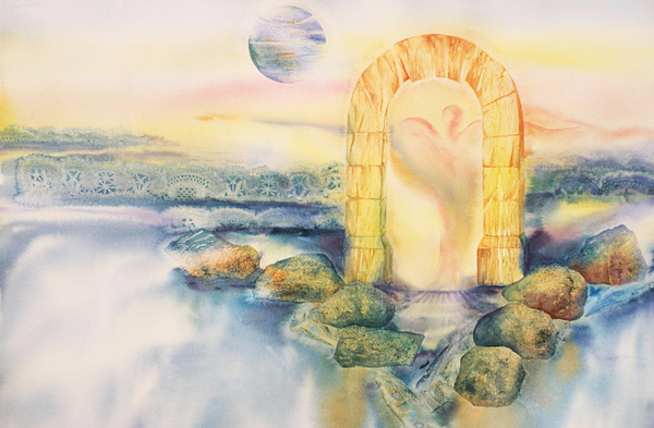 Angel Painting - The Angel Within by Tara Moorman