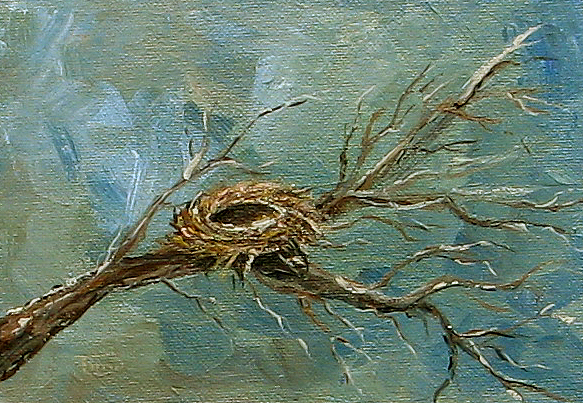 Winter Painting - The Arrival Of Winter  by Torrie Smiley