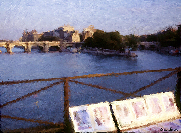 The Art Of Paris Digital Art by Rein Nomm