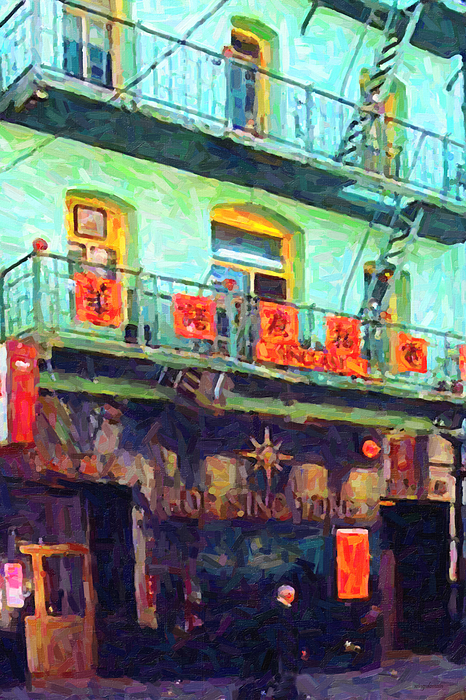 Chinatown Photograph - The Association by Wingsdomain Art and Photography
