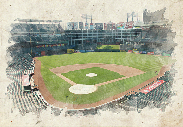 Texas Photograph - The Ballpark by Ricky Barnard
