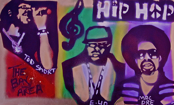 Hip Hop Painting - The Bay Area  by Tony B Conscious