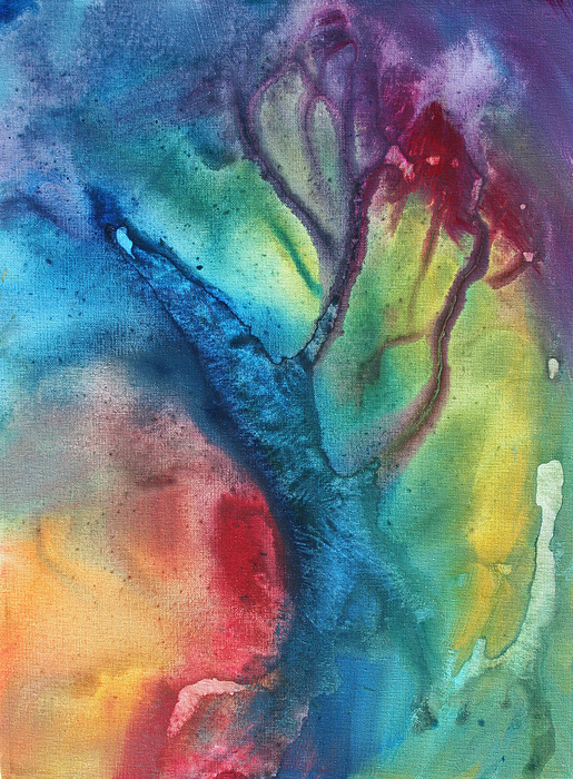 Painting Painting - The Beauty Of Color 3 by Megan Duncanson