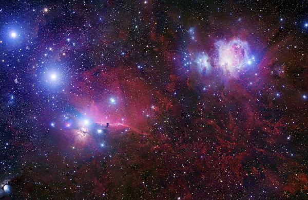 Alnilam Photograph - The Belt Stars Of Orion by Robert Gendler