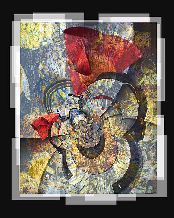 Bang Digital Art - The Big Bang by Chuck Brittenham