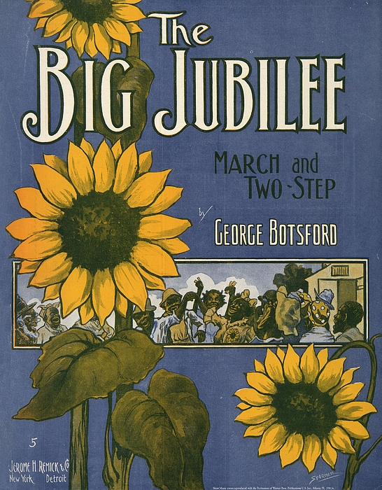 Sunflower Painting - The Big Jubilee by Unknown