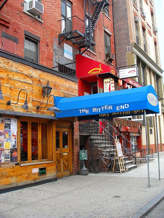Bitter End Photograph - The Bitter End New York-greenwich Village by Candace Garcia