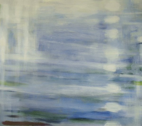 Seascape Painting - The Blue Sea by Riikka Soininen