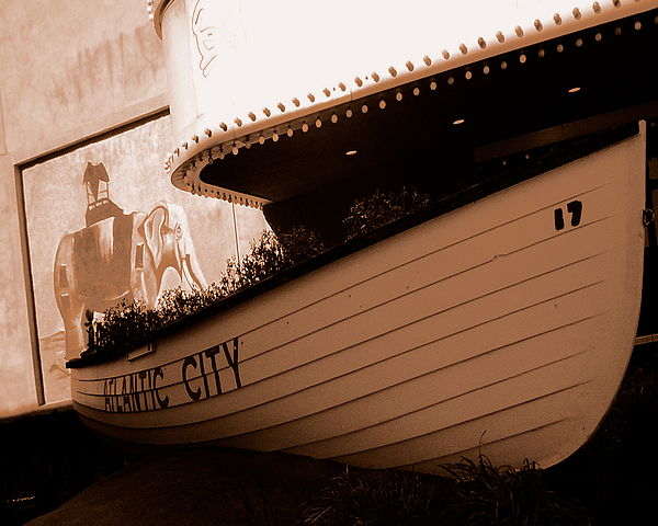 Boats Photograph - The Boardwalk by Heather Weikel