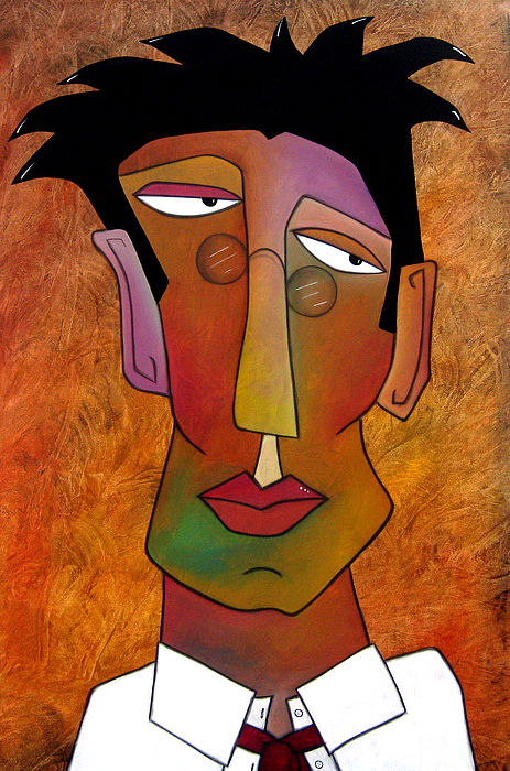 Fidostudio Painting - The Boss by Tom Fedro - Fidostudio