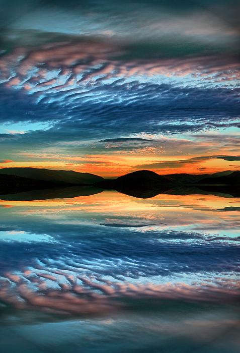 Sunset Photograph - The Brush Strokes Of Evening by Tara Turner