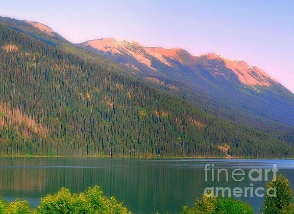 Jasper Area Photograph - The Calm by Elfriede Fulda