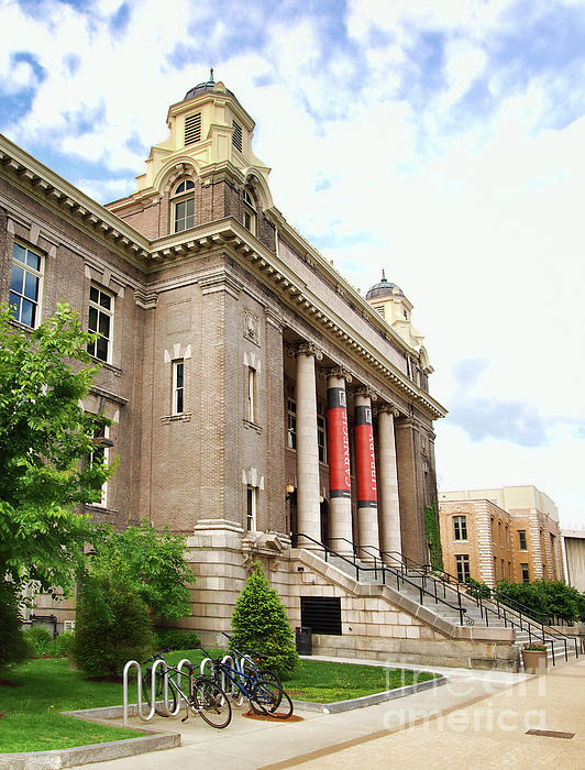 Library Photograph - The Carnegie Library by Debra Millet