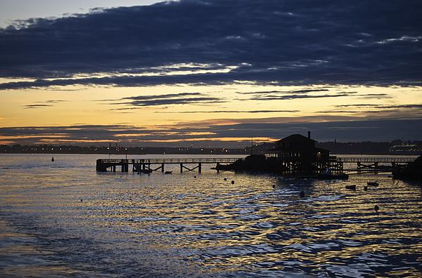 Little Diamond Island Photograph - The Casino At Sunset by Faith Harron Boudreau