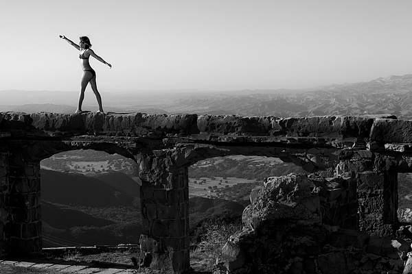Landscape Photograph - The Castle 2 by Matthew Hill
