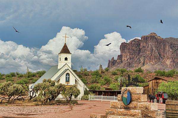 Arizona Photograph - The Chapel by Ryan Seek